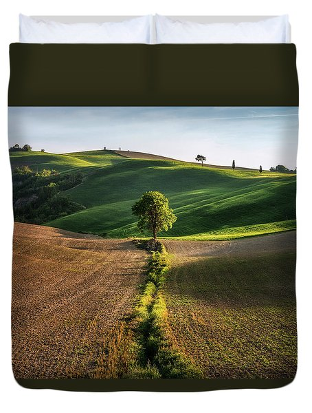 The Lost Love Tree Duvet Cover