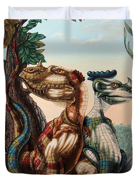 The Lost World  By Sir Arthur Conan Doyle Duvet Cover