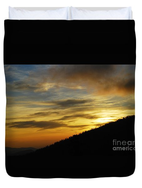 The Loud Music Of The Sky Duvet Cover