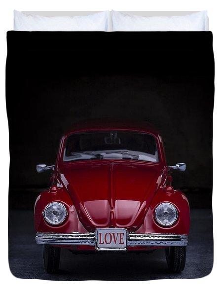 The Love Bug Square Duvet Cover