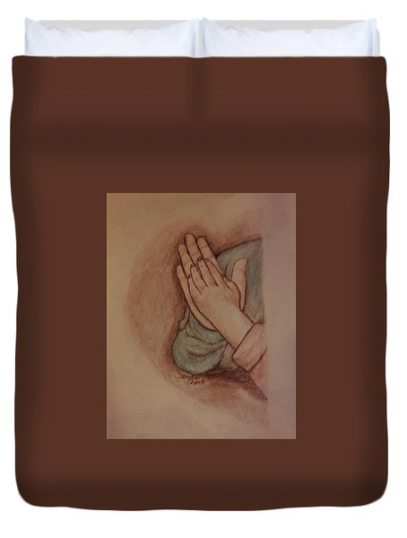 The Love Of Sisters Duvet Cover by Christy Saunders Church