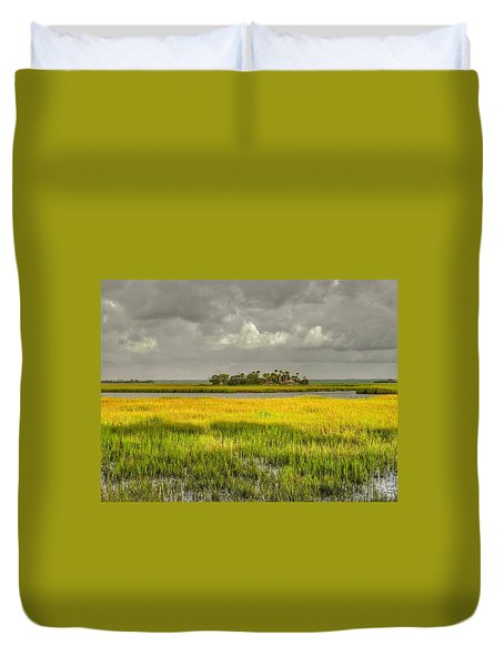 Duvet Cover featuring the photograph The Lovely Low Country by Patricia Greer