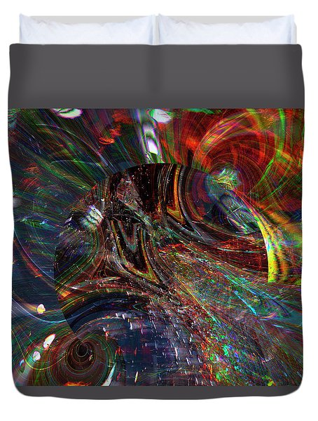 The Lucid Planet Duvet Cover