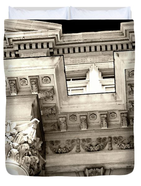 The Lu Esther T. Mertz Library Duvet Cover