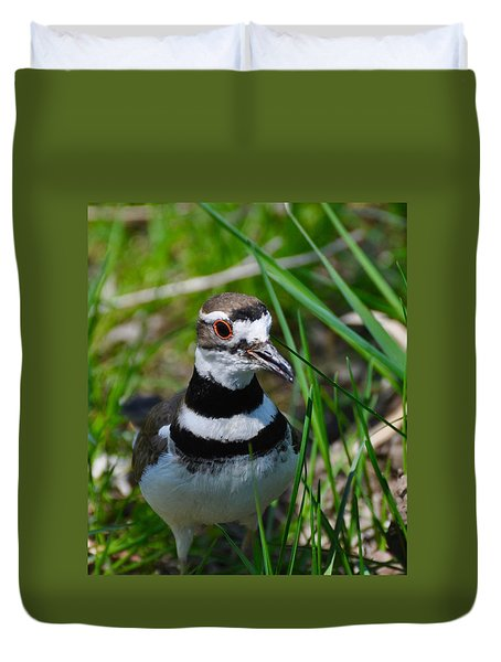 The Luminous Killdeer Duvet Cover