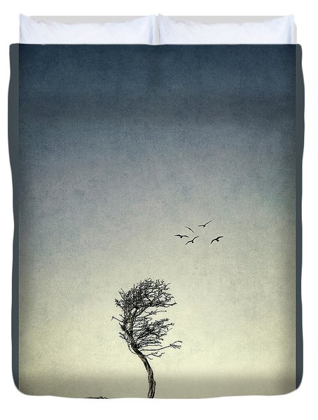 The Lure Of Solitude Duvet Cover