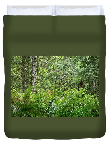 The Lush Forest Duvet Cover