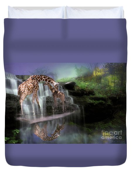 The Magical Bond Duvet Cover