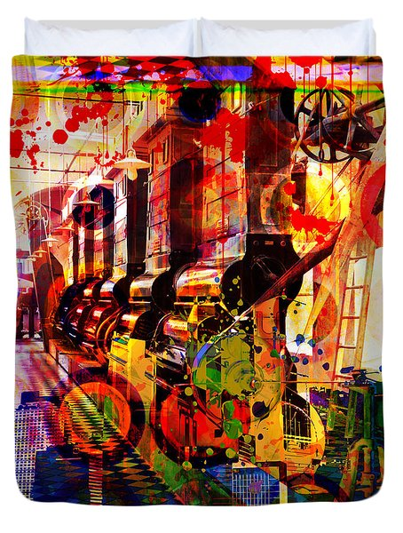 The Machine Age Duvet Cover