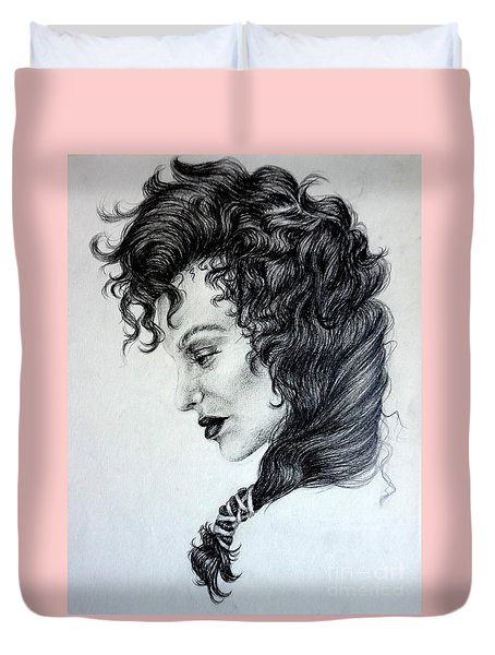 The Madam Duvet Cover