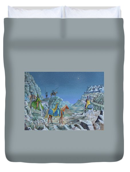 The Magi Duvet Cover