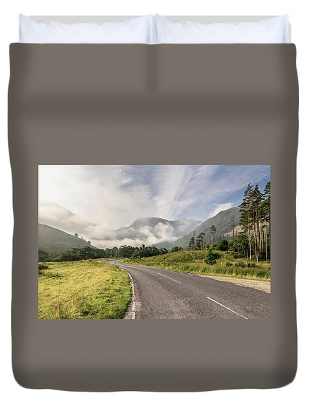 The Magic Morning Duvet Cover
