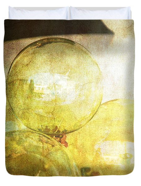 The Magic Of Christmas Duvet Cover by Susanne Van Hulst