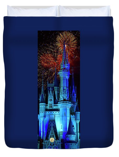The Magic Of Disney Duvet Cover by Mark Andrew Thomas