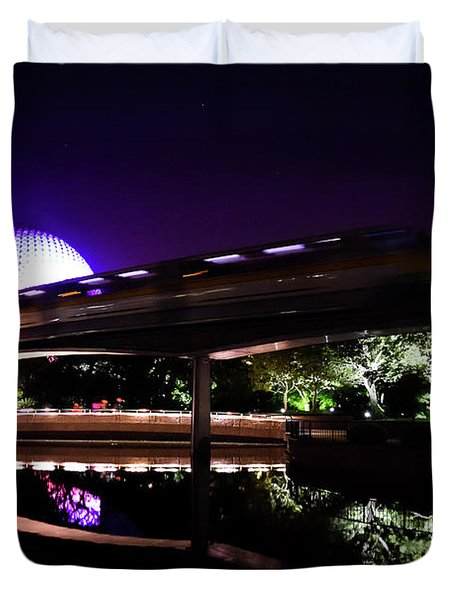 The Magic Of Epcot Duvet Cover