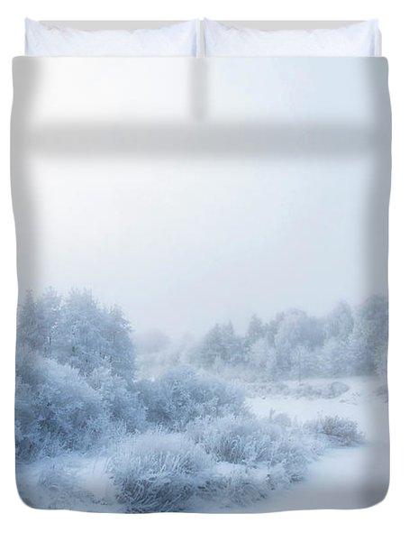 The Magic Of Winter 2 Duvet Cover