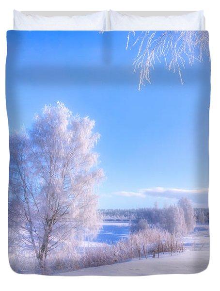 The Magic Of Winter 3 Duvet Cover