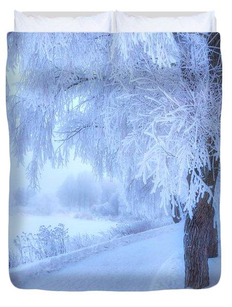 The Magic Of Winter 4 Duvet Cover