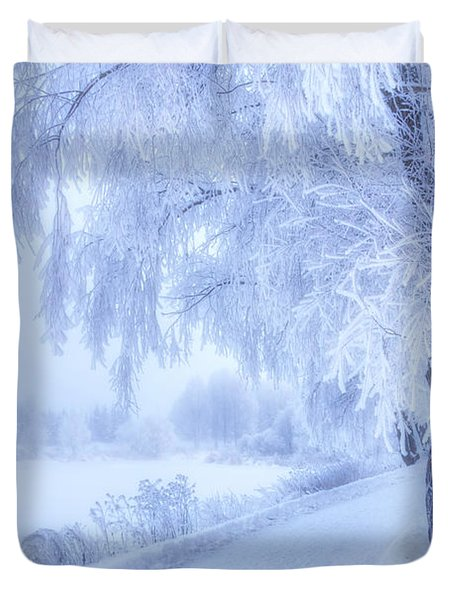 The Magic Of Winter 5 Duvet Cover