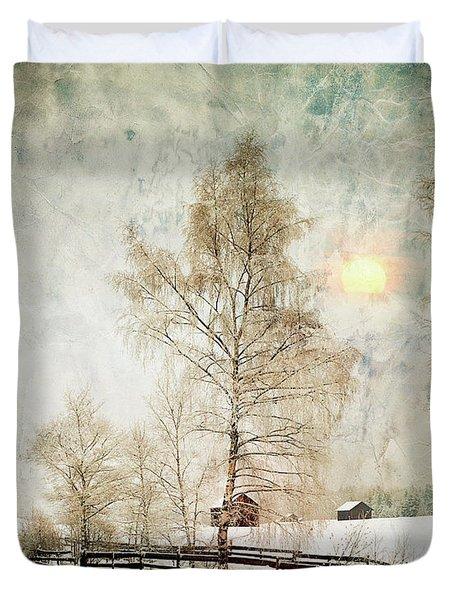 The Magic Of Winter Duvet Cover