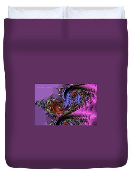 The Magic Triapus Duvet Cover