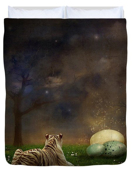 The Magical Of Life Duvet Cover