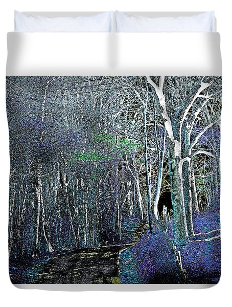 The Magical Woods Duvet Cover