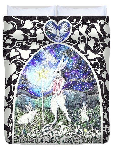 The Magician Duvet Cover