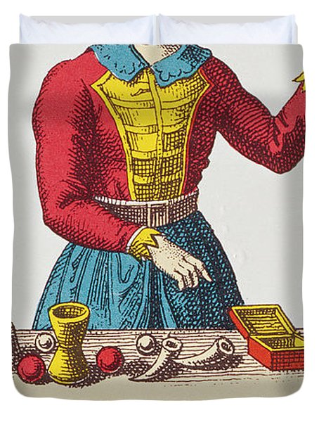 The Magician Tarot Card Duvet Cover
