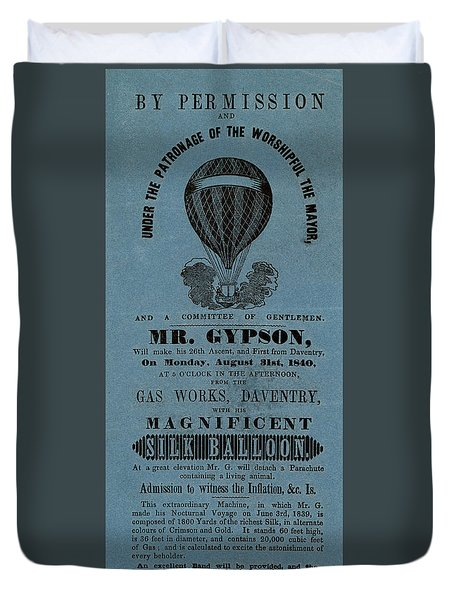 The Magnificent Mr. Gypson Duvet Cover