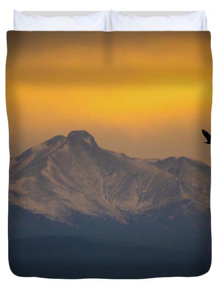 The Majestic Bald Eagle Duvet Cover