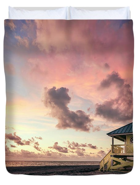 The Majesty Of Sunrise Duvet Cover