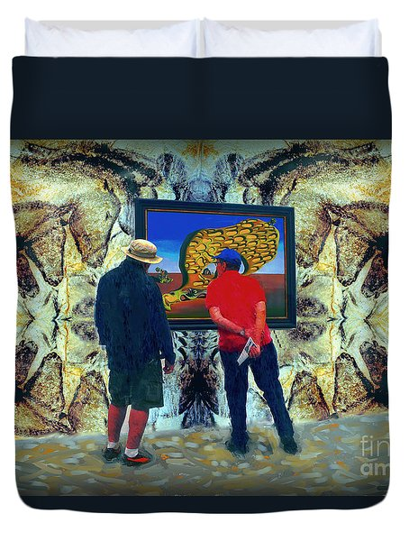 The Man Cave Enigma Duvet Cover by Gerhardt Isringhaus