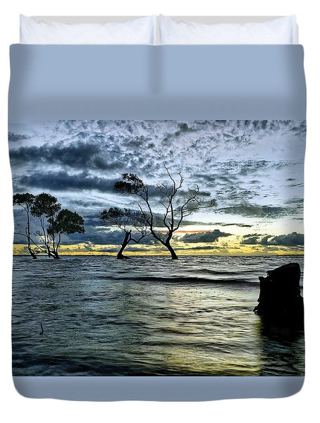 The Mangrove Trees Duvet Cover