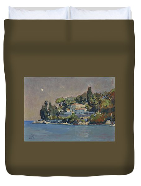The Mansion House Paxos Duvet Cover