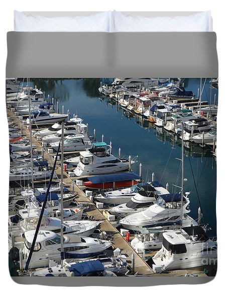 The Marina Duvet Cover by Renie Rutten