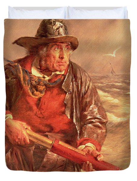 The Mariner Duvet Cover by Erskine Nicol