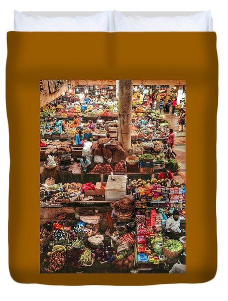 The Market Duvet Cover