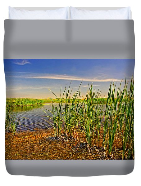 The Marshes Of Brazoria Duvet Cover