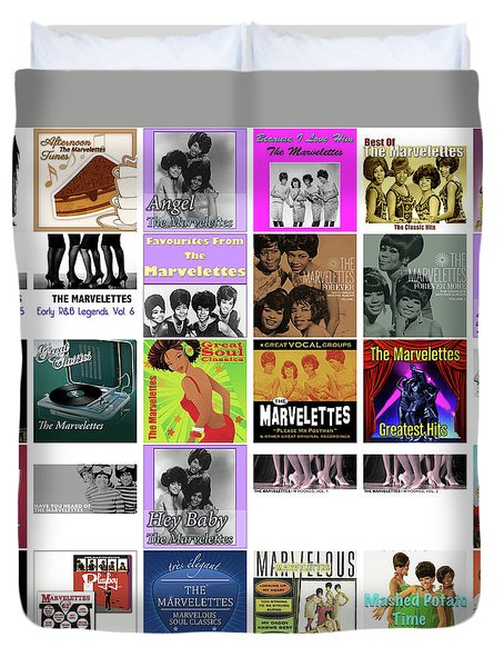 The Marvelettes 1 Duvet Cover