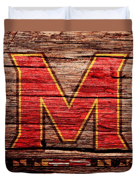 The Maryland Terrapins 1a Duvet Cover
