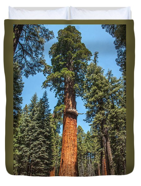 The Mckinley Giant Sequoia Tree Sequoia National Park Duvet Cover