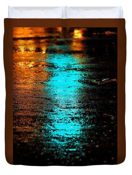 Duvet Cover featuring the photograph The Memory Lane II by Prakash Ghai