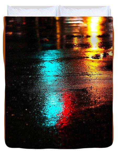 The Memory Lane Duvet Cover by Prakash Ghai