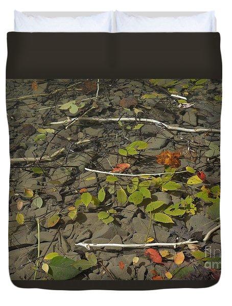 The Menu Duvet Cover by Randy Bodkins