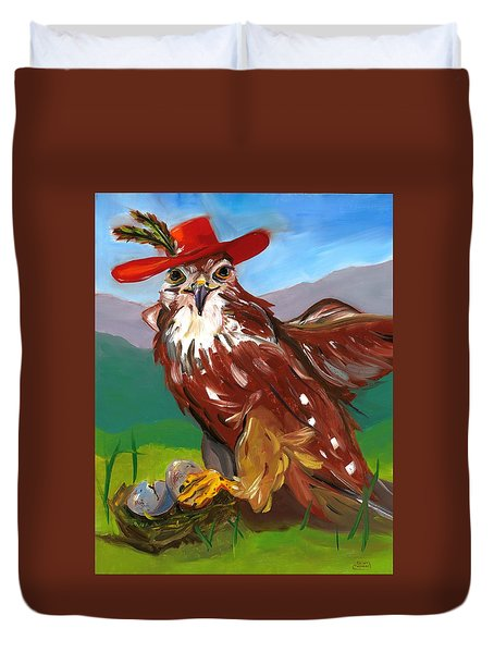The Merlin Duvet Cover