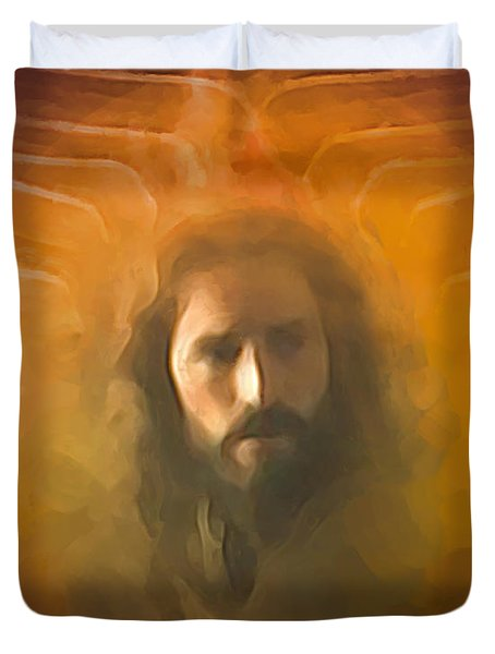 The Messiah Duvet Cover