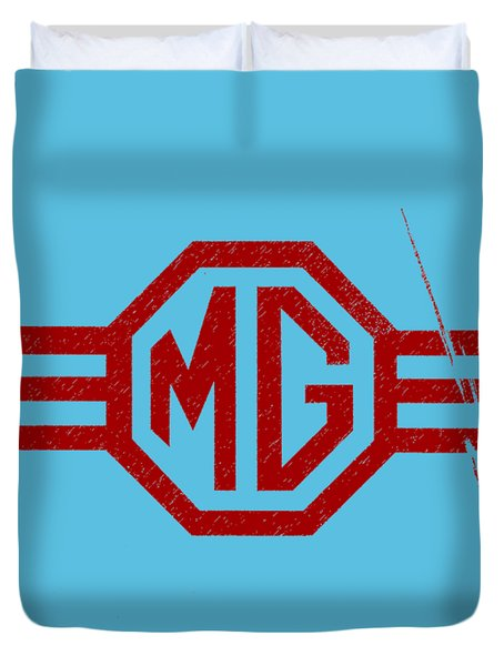 The Mg Sign Duvet Cover