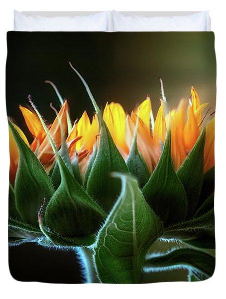 The Mighty Sunflower Duvet Cover
