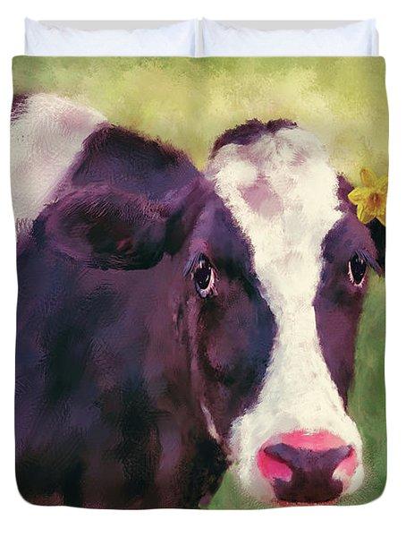 The Milk Maid Duvet Cover